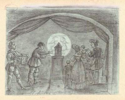 A magic lantern show