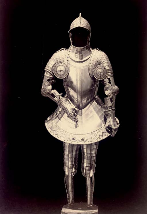 Spanish Suit of Armour, late 1850s
