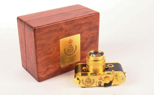 Leica M6 Gold Sultan of Brunei