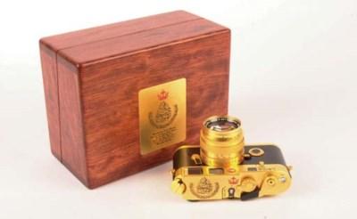 Leica M6 Gold Sultan of Brunei