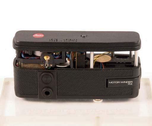 Leica cut-away R4 winder