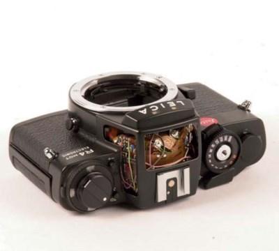 Leica R4 MOT cut-away no. 1533