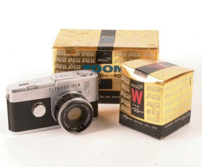 Olympus Pen F outfit