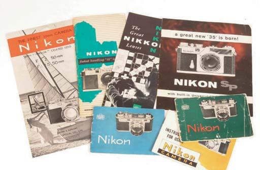 Nikon Rangefinder Literature