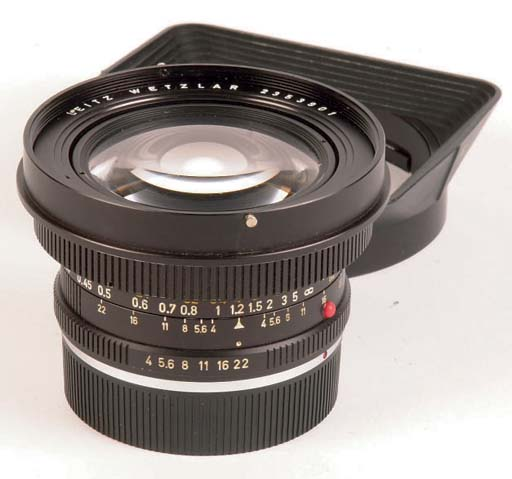 Super-Angulon-R f/4 21mm. no.