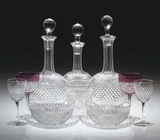 A STOURBRIDGE CUT GLASS PALE-R