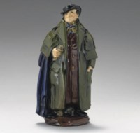 A DOULTON & CO. TONY WELLER HN346 FIGURE PAINTED AND IMPRESSED MARKS