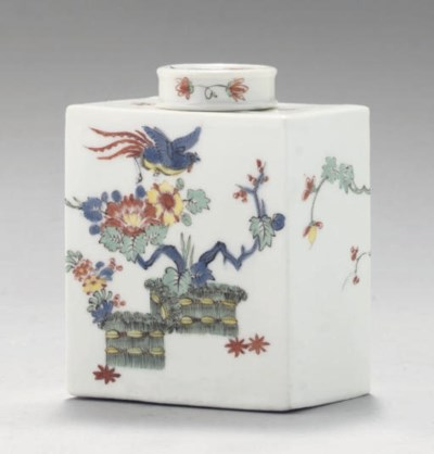 A MEISSEN KAKIEMON RECTANGULAR