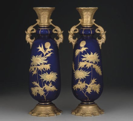 A PAIR OF WORCESTER (GRAINGER