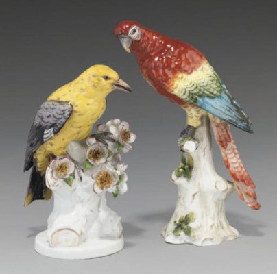 A GROUP OF CONTINENTAL PORCELA