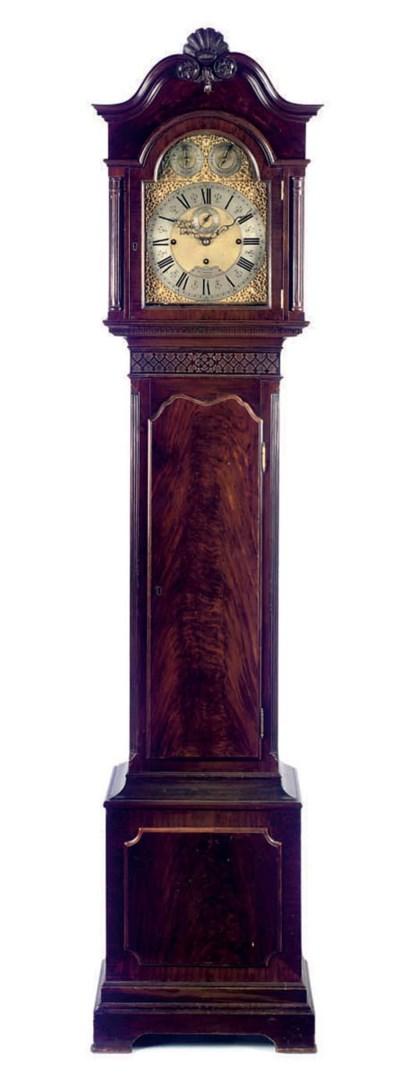 A George V mahogany quarter-ch