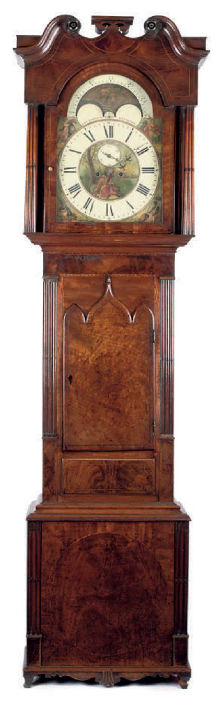 A William IV mahogany eight da