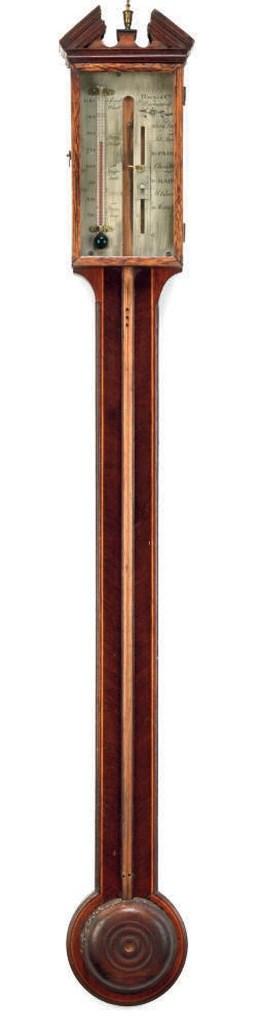 A George IV mahogany and boxwo
