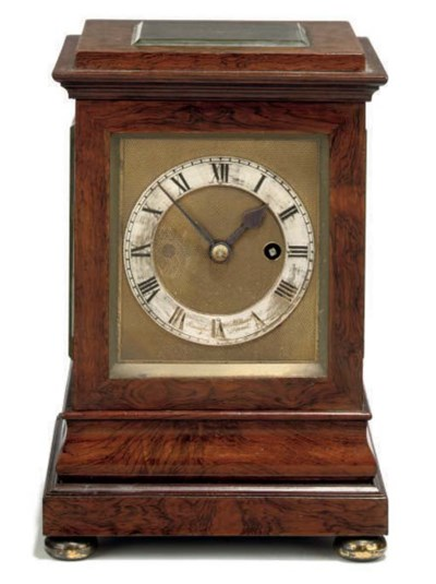An English Rosewood eight day