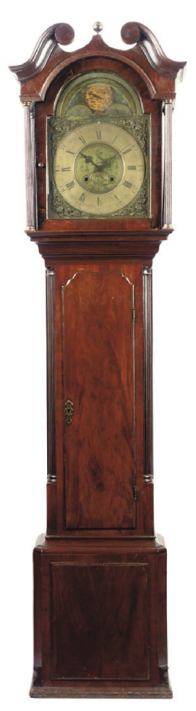 A George III mahogany eight da