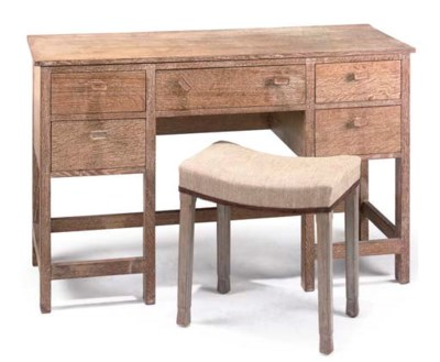 HEAL'S; DRESSING TABLE & A STO