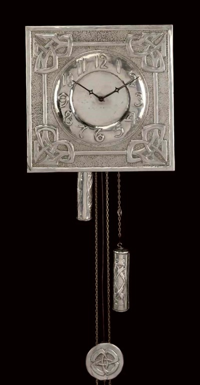 MARGARET GILMOUR; WALL CLOCK