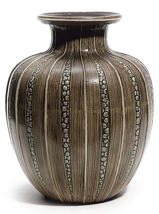 MARTIN BROTHERS; VASE