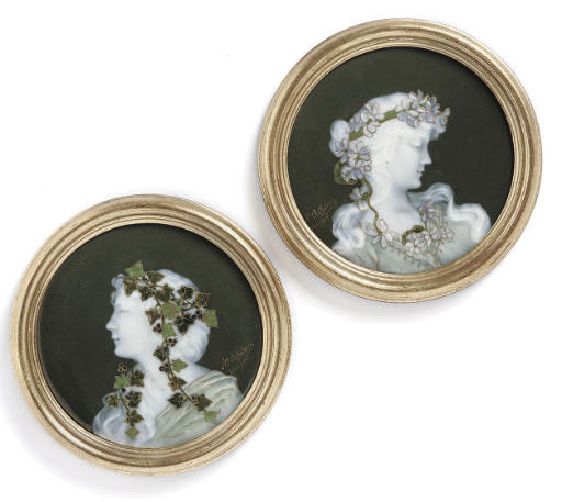 AUGUSTE RIFFATERRE FOR LIMOGES