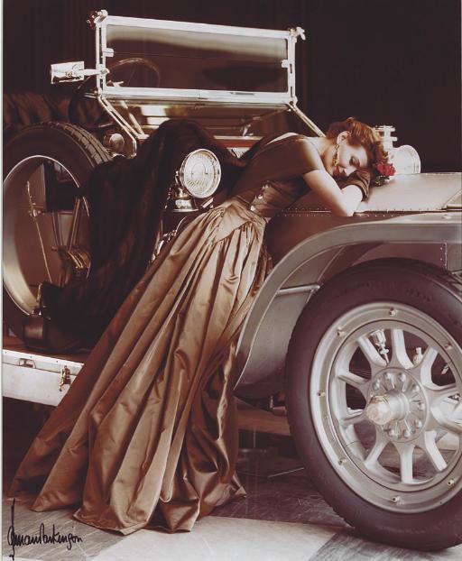 Harper's Bazaar, 1938; Wenda over the Rolls, London, 1951