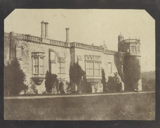 Lacock Abbey, 1842-43