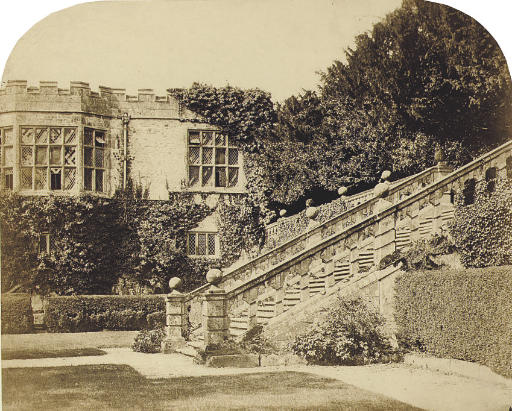 Haddon Hall, early 1860s