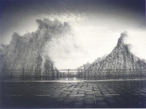 Wave, Scarborough, Yorkshire, England, 1981
