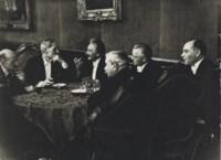 Berlin group including Albert Einstein, 1931
