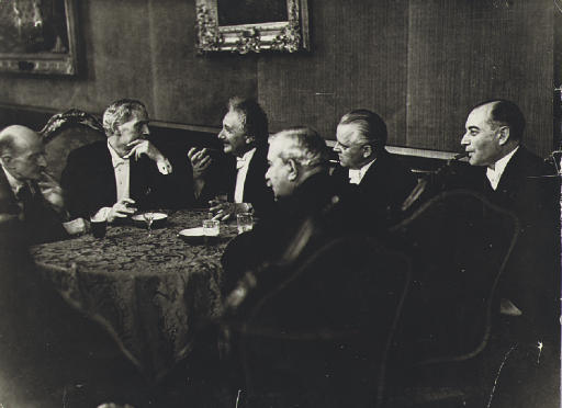 Berlin group including Albert Einstein, 1931