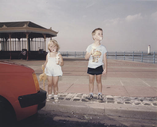 New Brighton, Merseyside from 'The Last Resort', 1982
