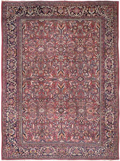 A Sarouk-Mahal carpet, West Pe