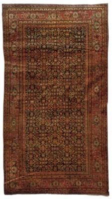 A fine antique Feraghan carpet
