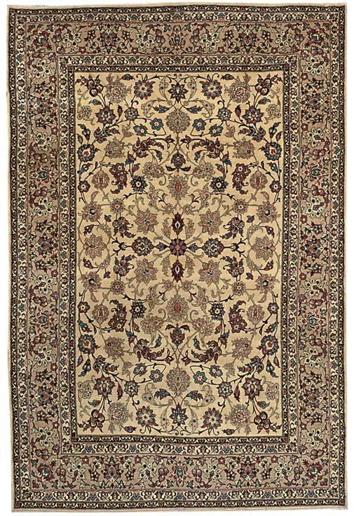 A fine Yezd carpet, South Pers