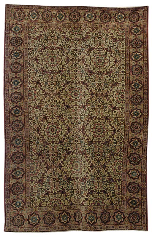 A fine Tabriz large rug, North