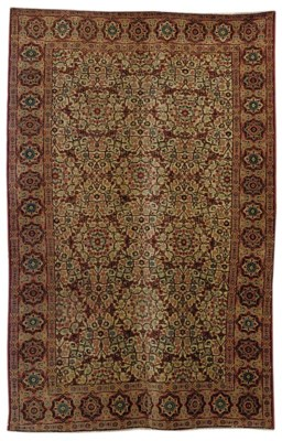 A fine Tabriz large rug, North
