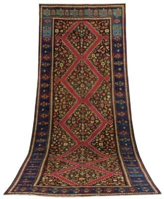 An antique Karabagh long kelle