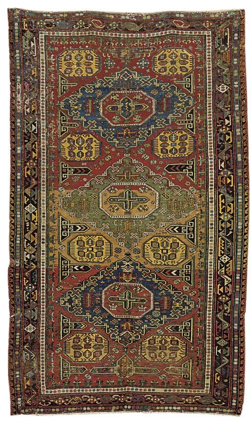An antique Soumac carpet, Sout