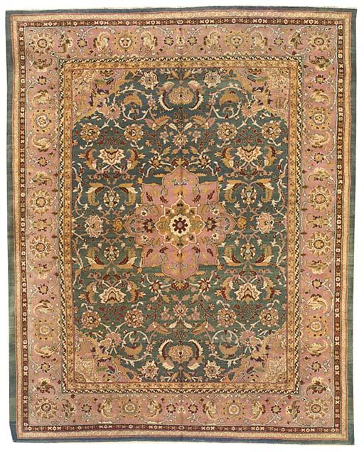 An antique Agra carpet, North