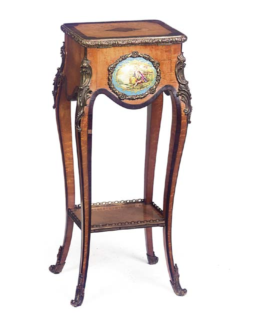 A MID-VICTORIAN GILT-METAL AND