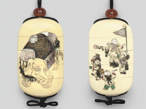 A four-case Shibayama style in