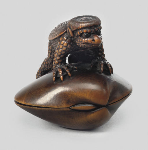 A wood model of a Kappa, with