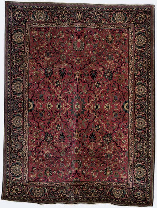 An unusual Indian large rug