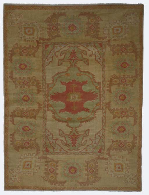A modern Ushak carpet