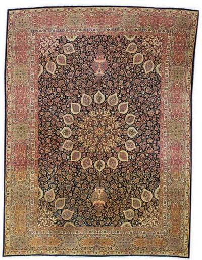 A fine Tabriz carpet of Ardebi