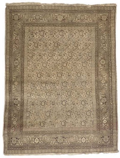 A Tabriz carpet and Ghiordes p