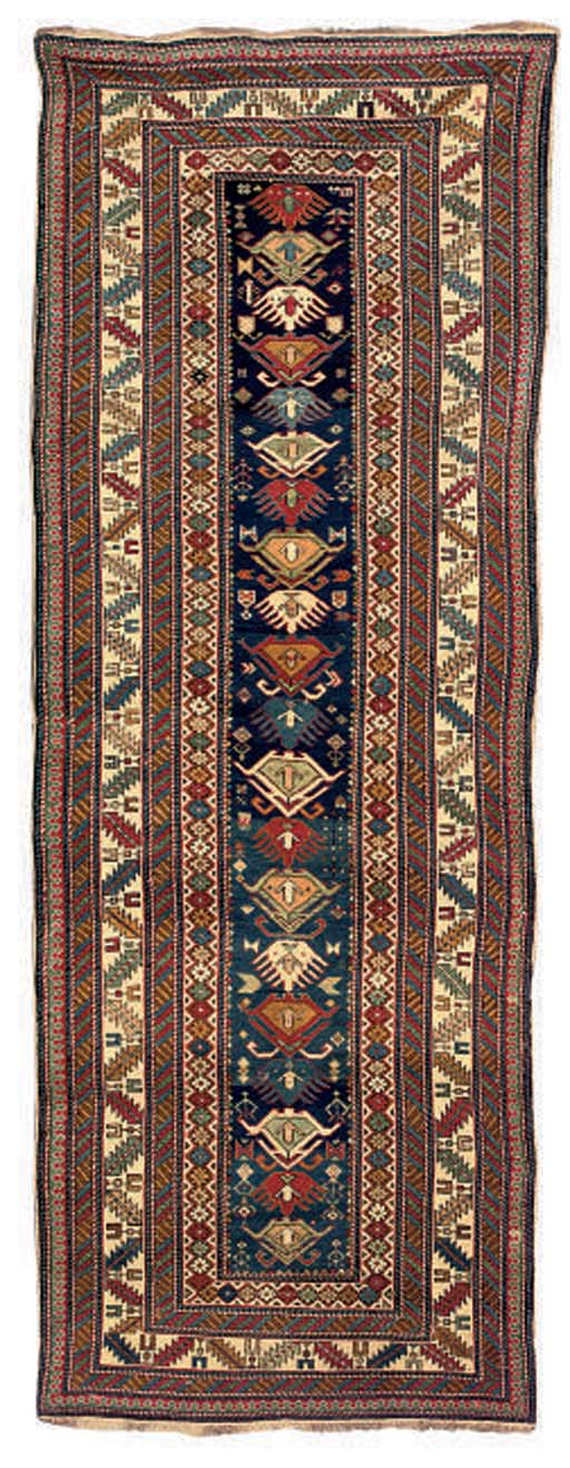 A fine Shirvan long rug