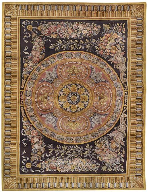 A fine Savonnerie style carpet