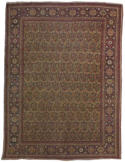 A fine Tabriz rug, North-West Persia