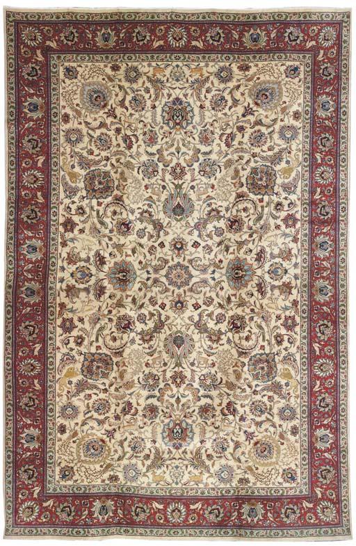 A fine Shah-Mohammadi Tabriz carpet, North-West Persia