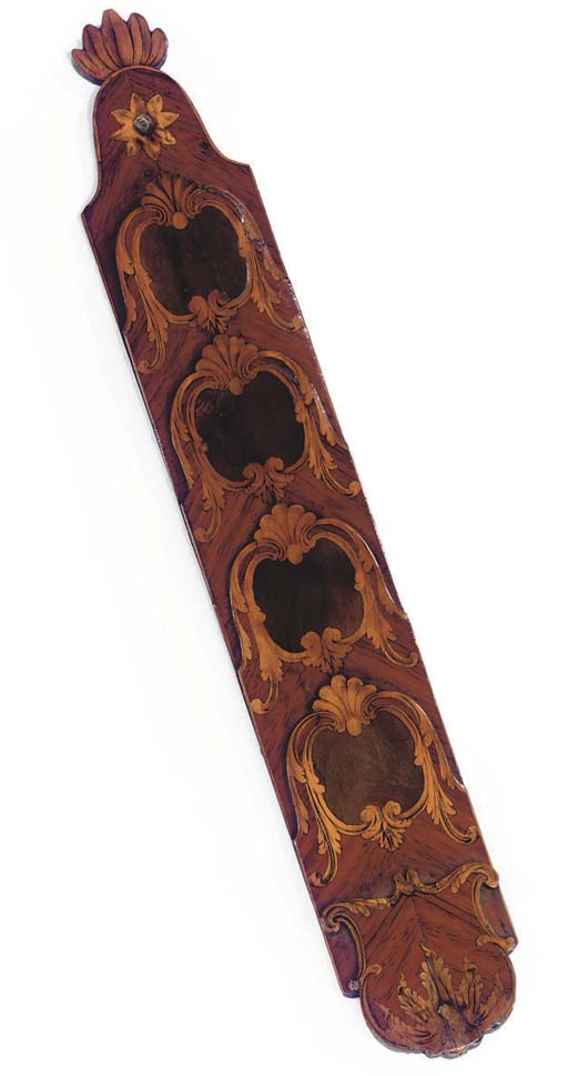 A FRENCH TULIPWOOD AND MARQUET